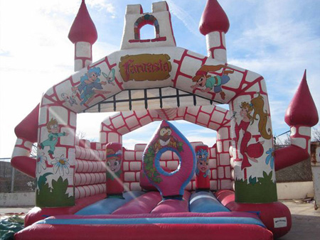 castillo fantasia Alquiler Hinchables Murcia
